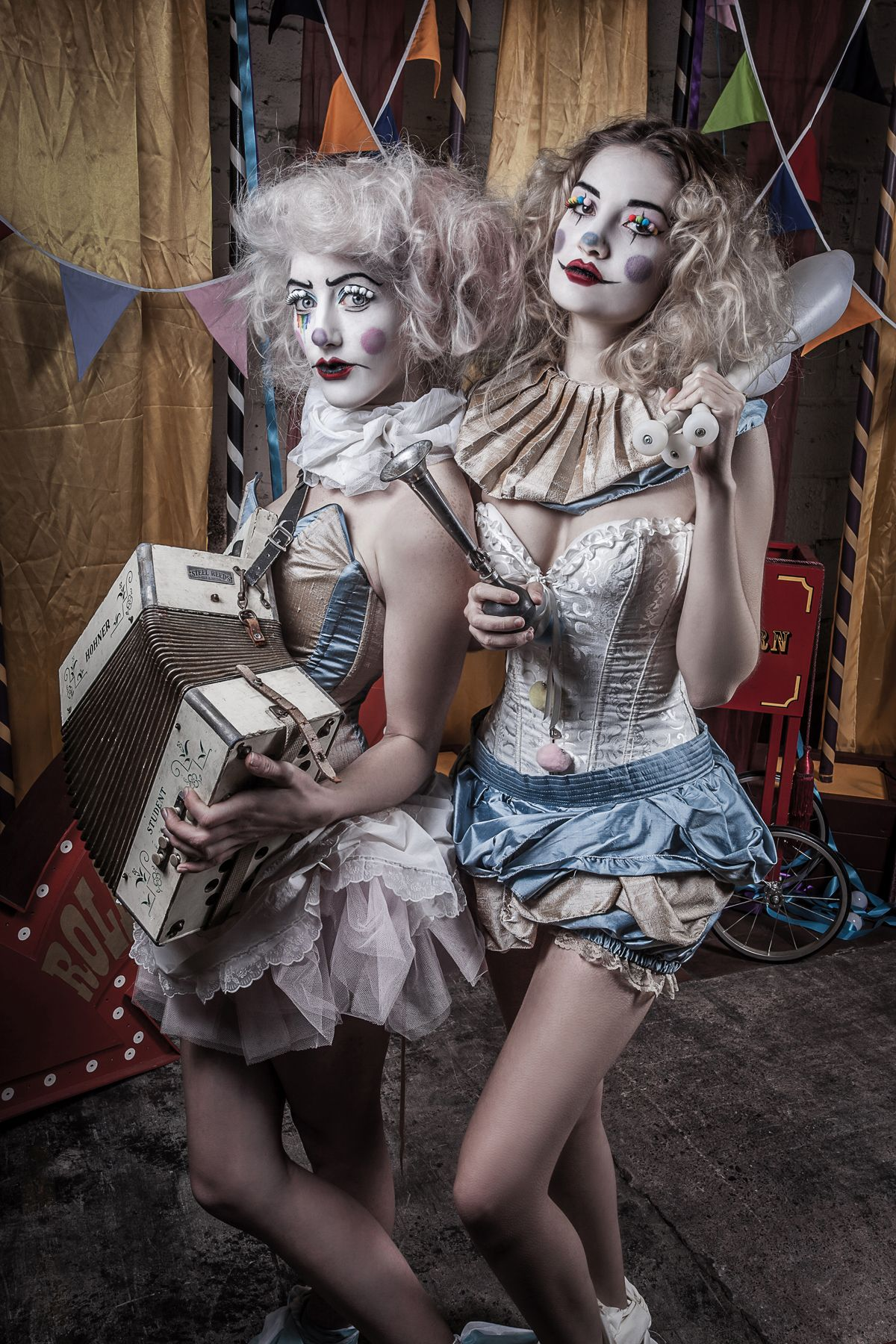 Alistair Campbell - A Very Vintage Circus 5. Clown CostumesCircus Party  CostumeGirl ...