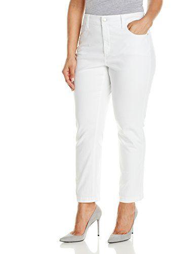 3624e18b51a NYDJ Women s Plus-Size Audrey Ankle Fine Line Twill Jeans