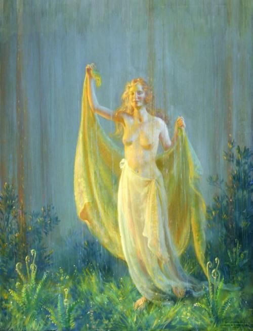 Sunshine and Rain - Charles Courtney Curran | For the love of art ...
