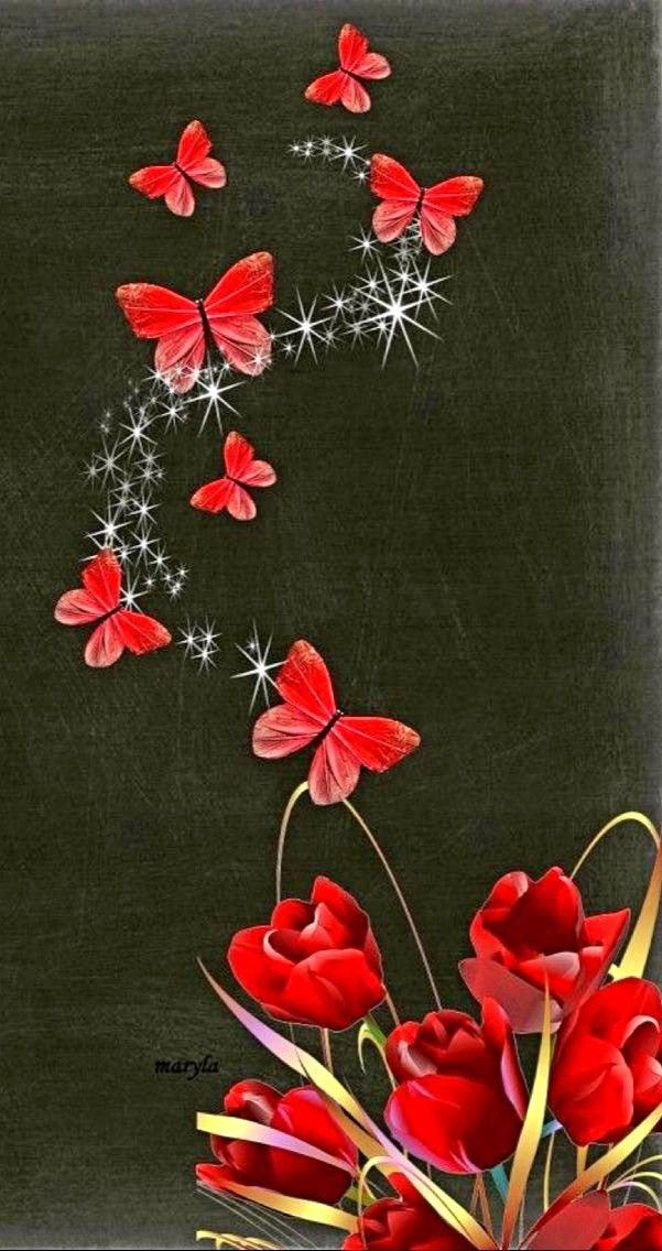 Благодарностью, картинки для мобильного телефона цветы
