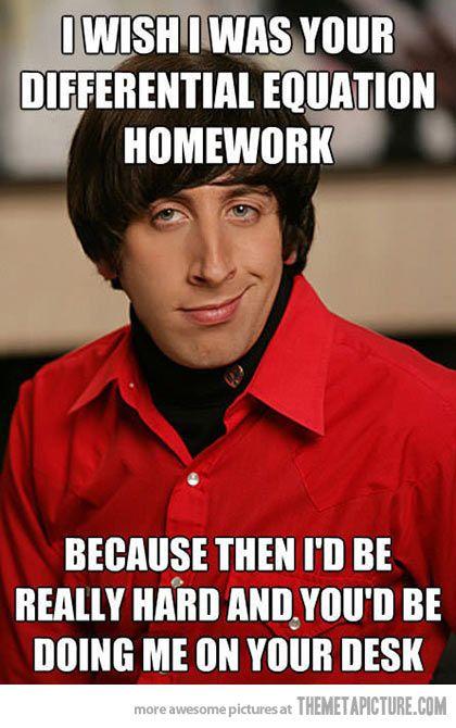 Homework joke