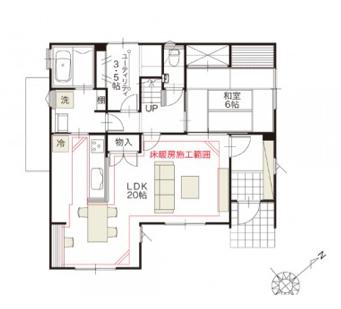 ユーティリティースペースを家に新しく作るときのポイント 1fの場合