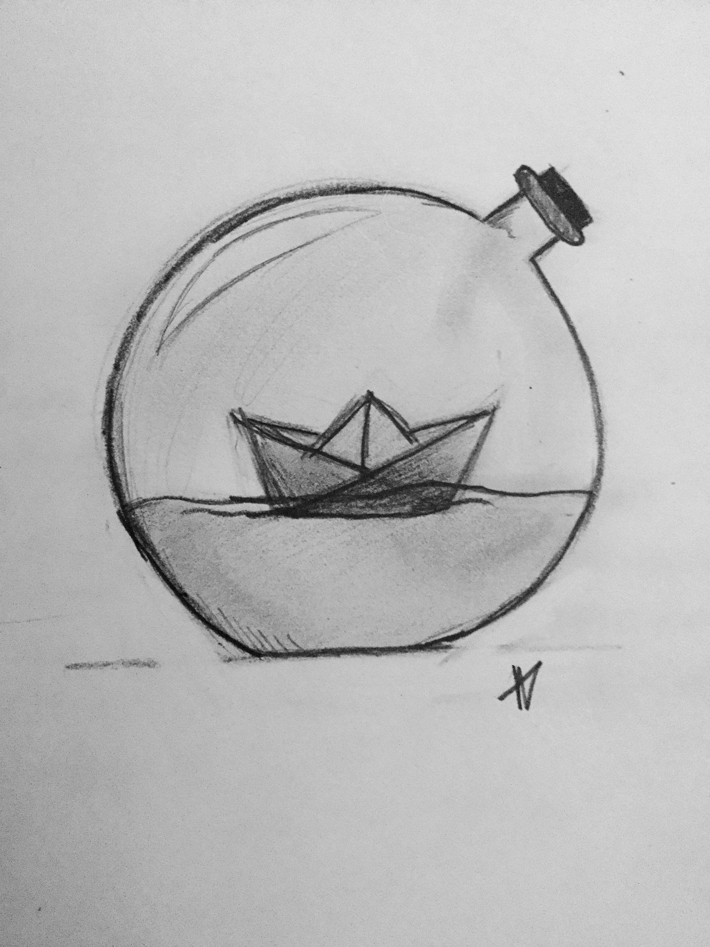 Bottleboat Dibujos A Lapiz Sencillos Bocetos Faciles De Dibujar Dibujos A Lapiz Dificiles