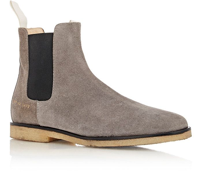 99d4b50119 Common Projects Suede Chelsea Boots | Barneys New York | Shoes ...