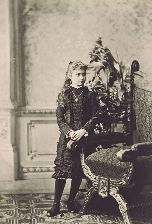 Princess Alix of Hesse and by Rhine (the future Empress Alexandra Feodorovna of Russia).A♥W