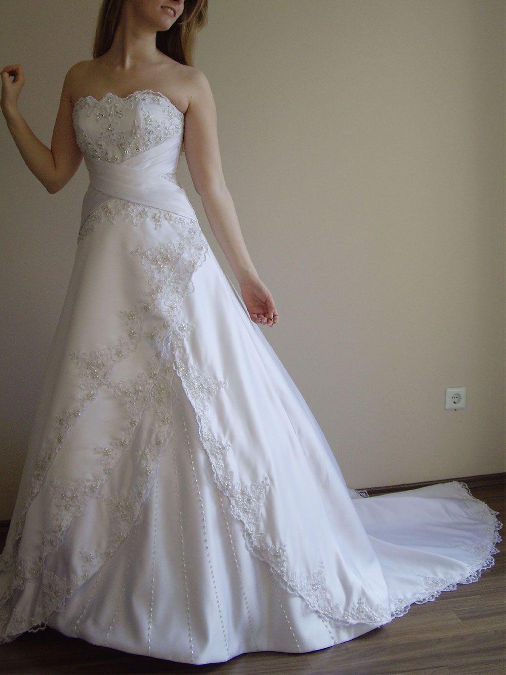 Glitzer Brautkleid Spitze  Kleid hochzeit, Brautkleid, Braut
