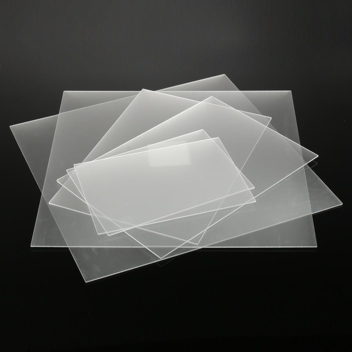 3mm One Sized Frosted Acrylic Sheet Clear Satin Matte Finish Plastic Panel 6 Sizes Frosted Acrylic Sheet Acrylic Sheets Matte Finish
