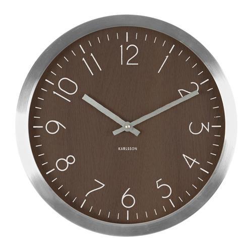 Karlsson Uhren karlsson wood charm wanduhr ø 35 cm jetzt bestellen unter https
