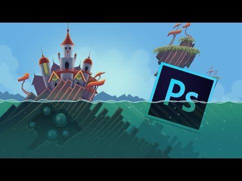 Photoshop game button #01 [ui design] youtube.