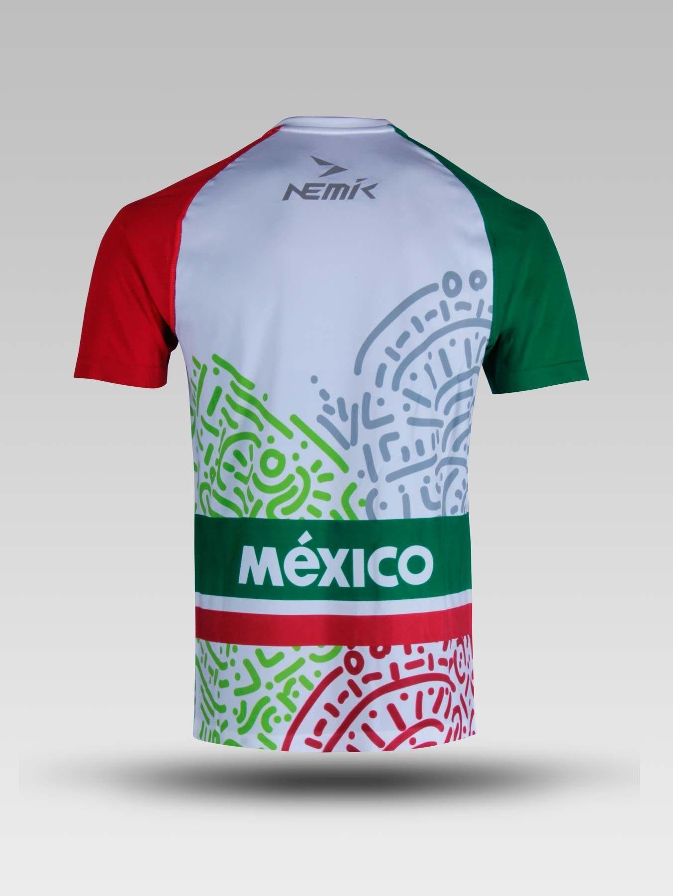 02aa522be4600 Playera Graphic Nemik México - Caballero