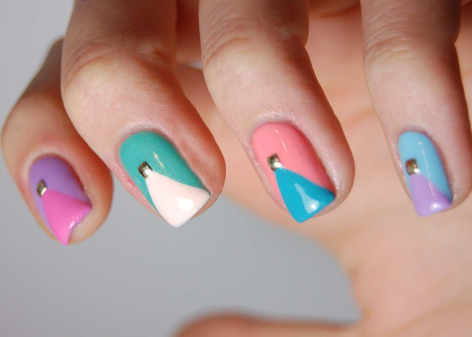 Easy cute nail design ideas nail art pinterest nail nail and