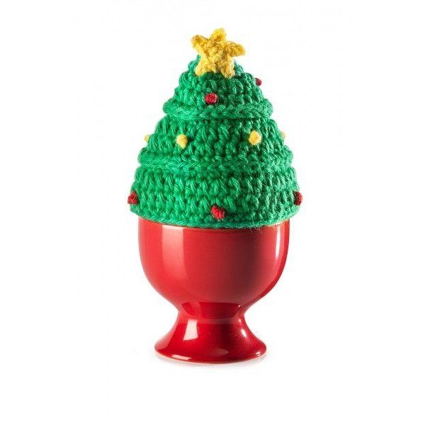 Für Den Adventskalender Handgehäkelter Tannenbaum Eierwärmer Aus