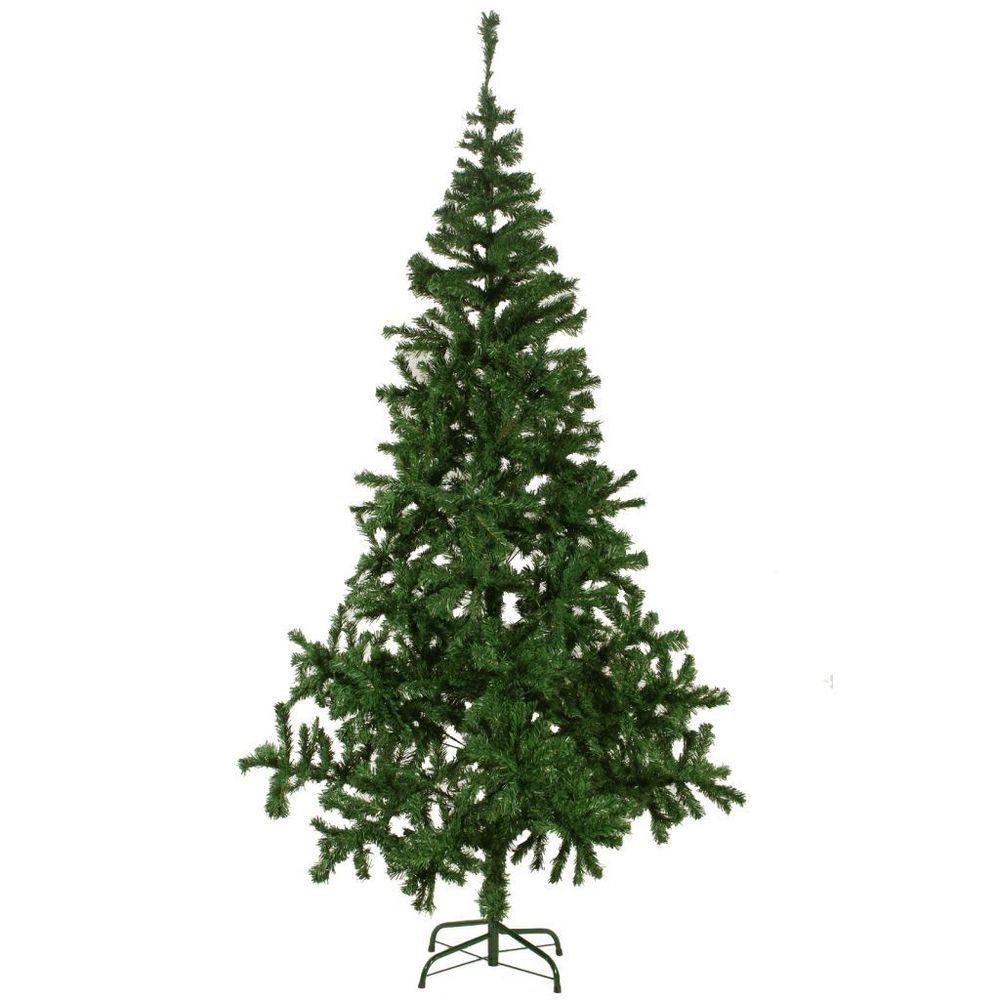 Tall Artificial Christmas Tree Indoor Outdoor Lawn Patio Garden ...
