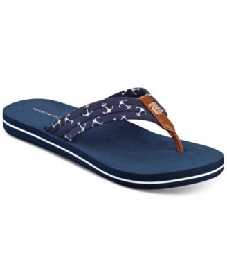 730126644 Tommy Hilfiger Women s Cafe Anchors Flip-Flop Sandals