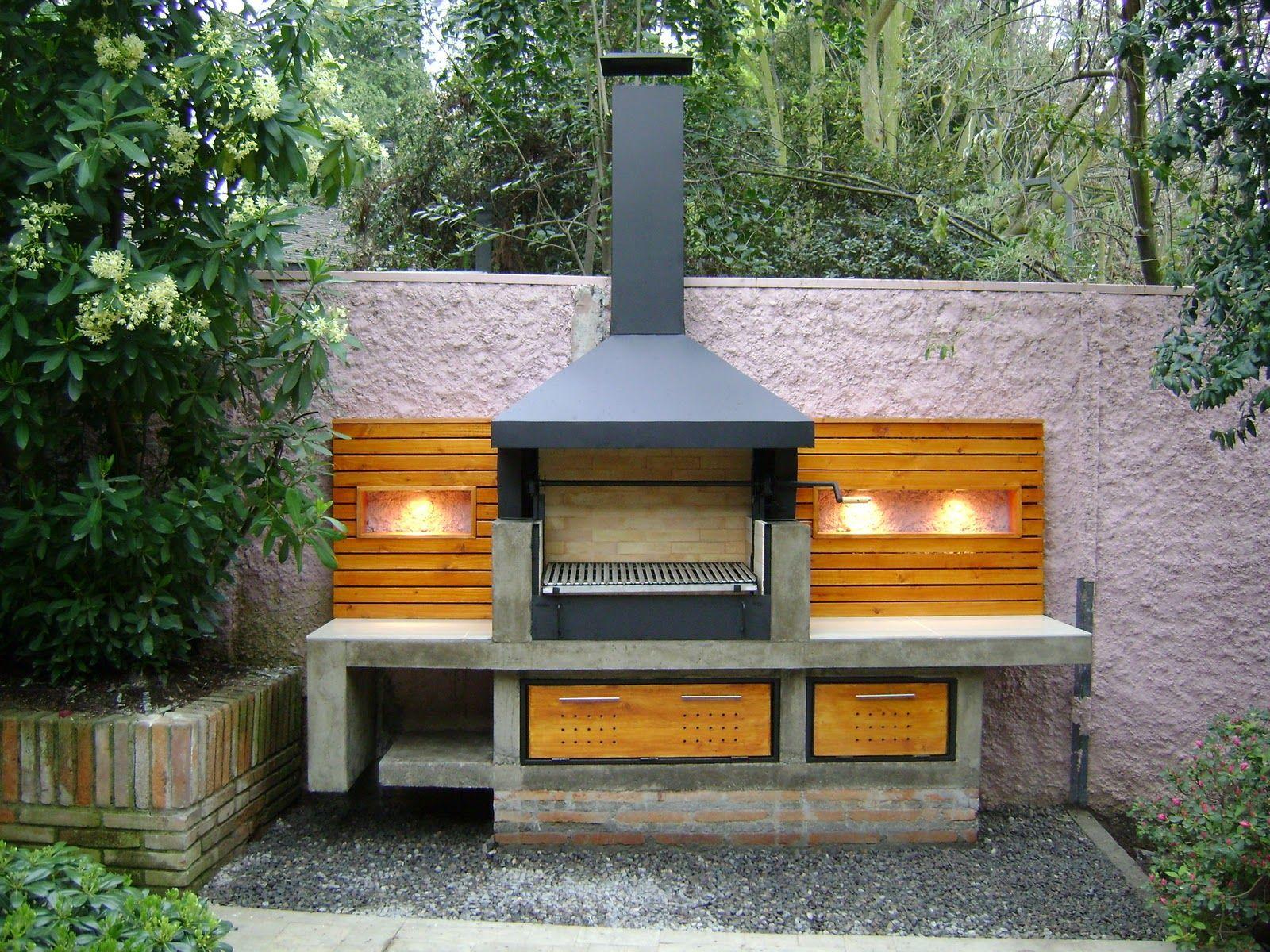 Quinchos modernos buscar con google terrazas perfiles for Asadores modernos jardin