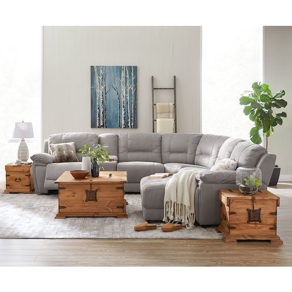 Cool Grey Living Rooms: Cool Pick. The Easy-to-coordinate Grey Colour Of The