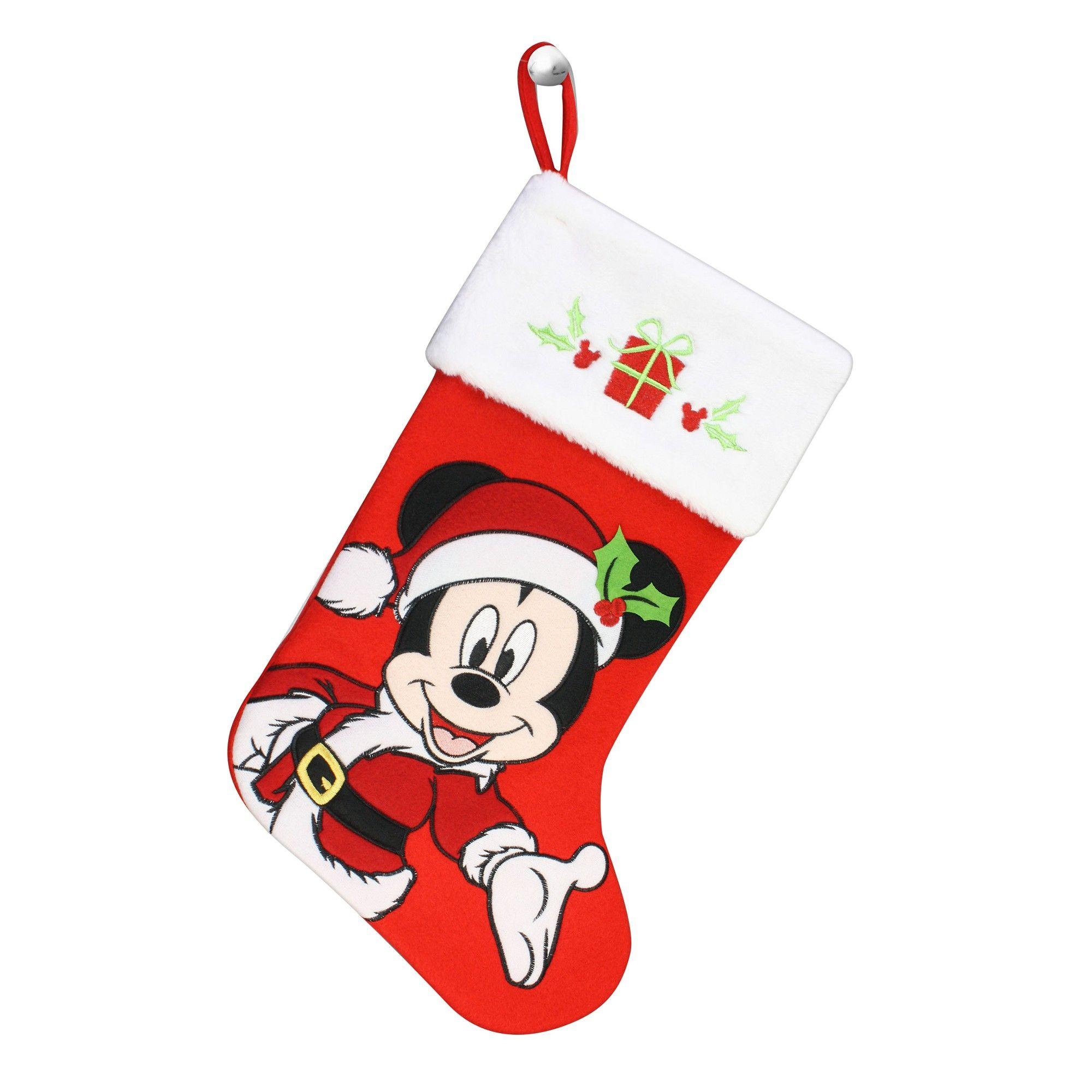 e7dd3a3a9c Disney Mickey Mouse Christmas Stocking