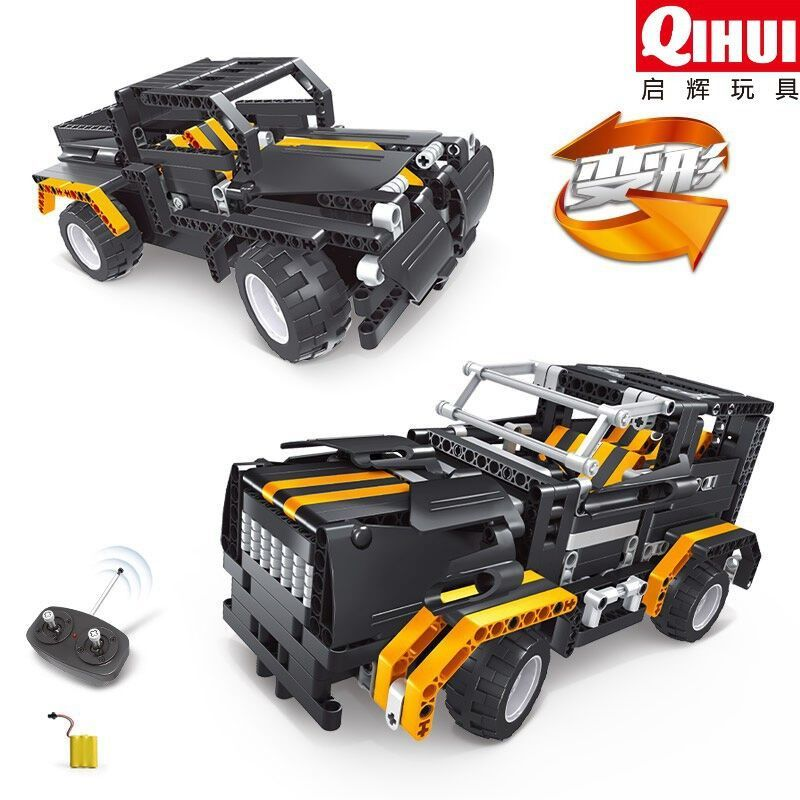 Rc Car Toys Building Block Vehicle RC Car Assembling