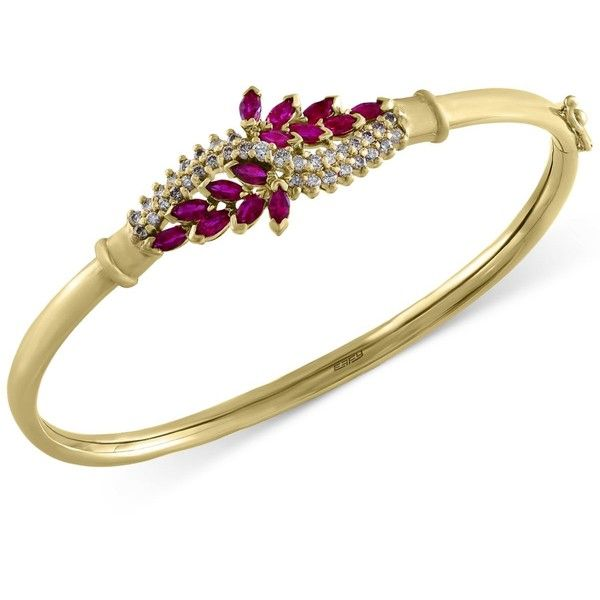 Ruby Royale by Effy Ruby 1 5 8 ct t w and Diamond 1 2 ct