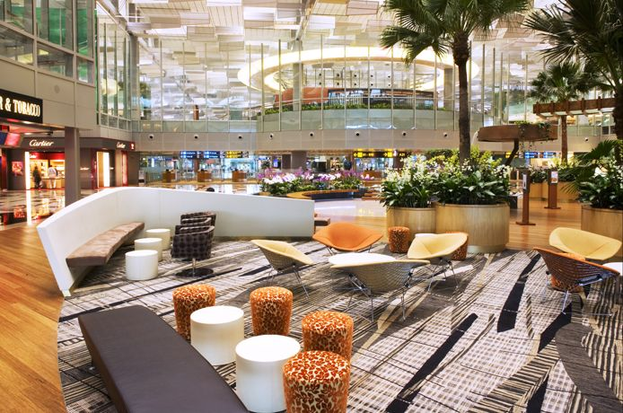 Changi International Airport Terminal 3 Singapore Airport Design Airport Singapore