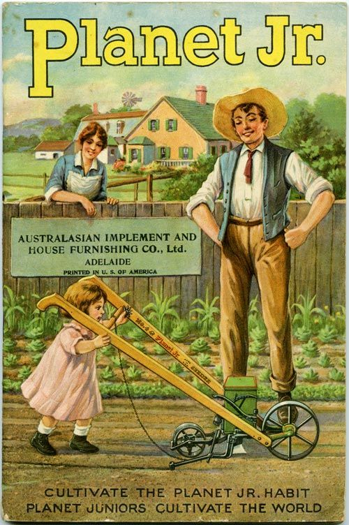 Planet Jr. Cultivator Ad 1917