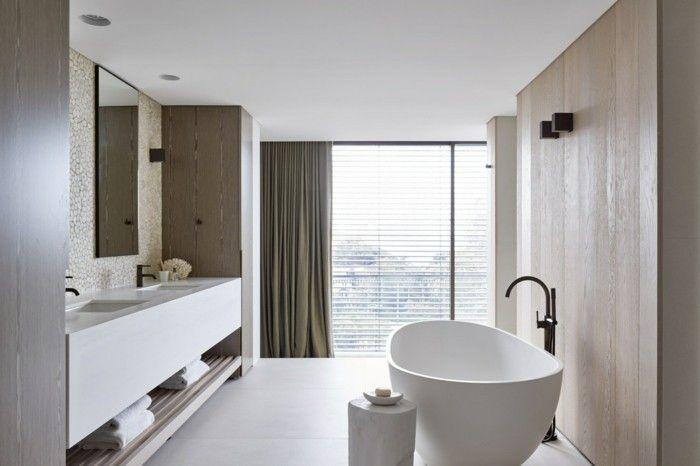 Weißes Badezimmer ~ Weißes badezimmer traumhaus architektur pinterest