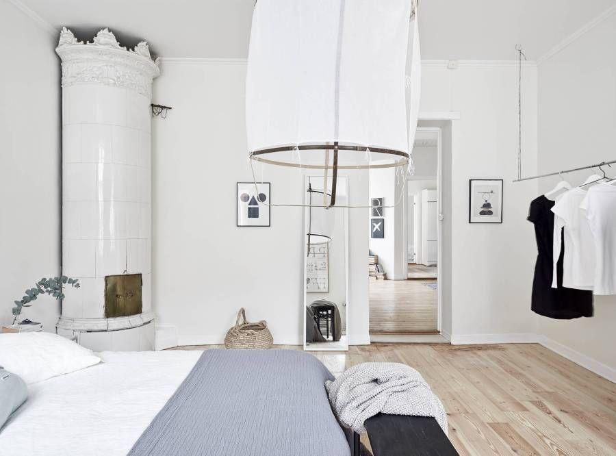 Bonito piso con un toque navideño sencillo y natural