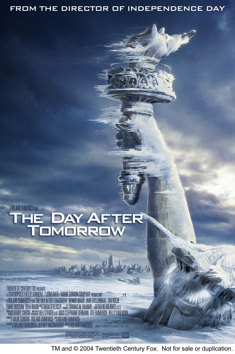 The Day After Tomorrow 2004 First Movie I Ever Saw In A Movie