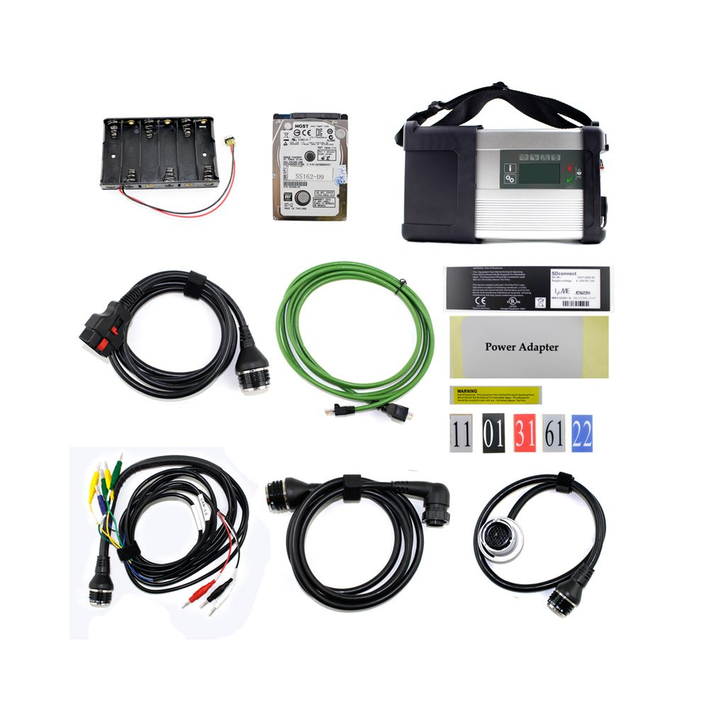 mercedes benz c5 mb sd connect diagnostic for cars & trucks sw