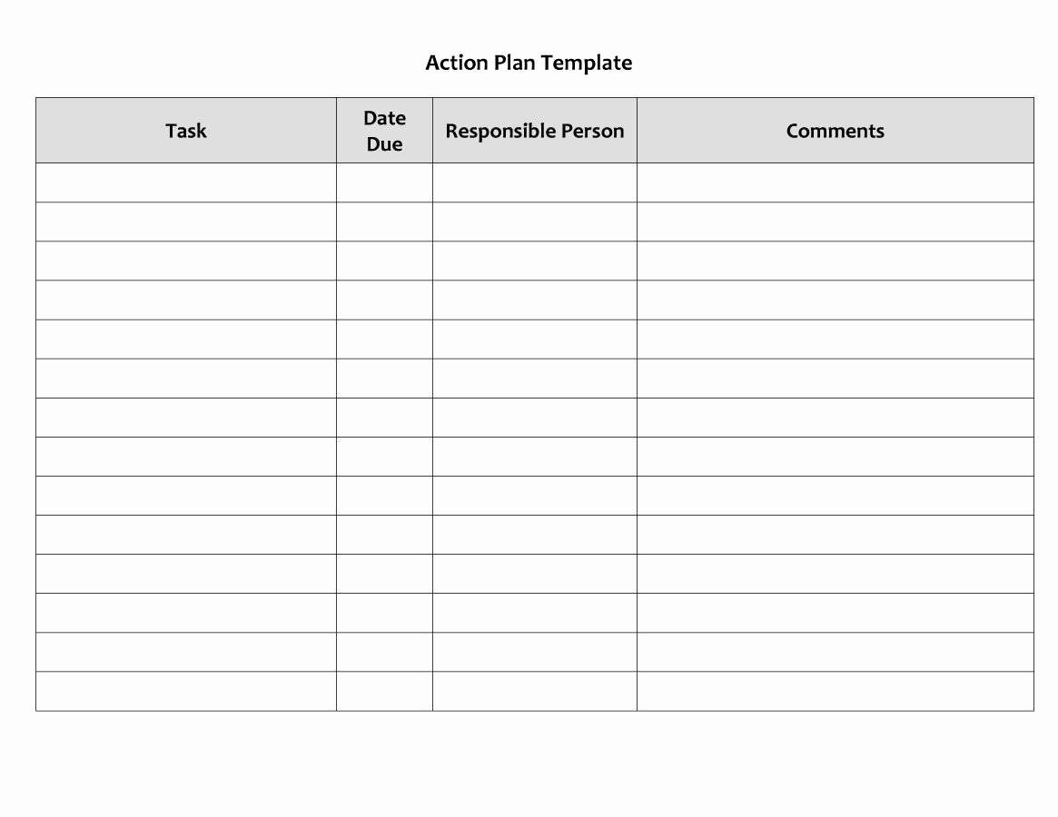 Free Corrective Action Plan Template Beautiful 45 Free Action Plan Templates Correct Action Plan Template Simple Business Plan Template Budget Planner Template Corrective action plan template word