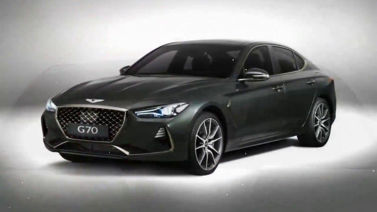 Hot News 2019 Genesis G70 Revealed Detailed Best Luxury Sedan Launch This Summer Hyundai Genesis Hyundai Genesis Coupe Luxury Sedan