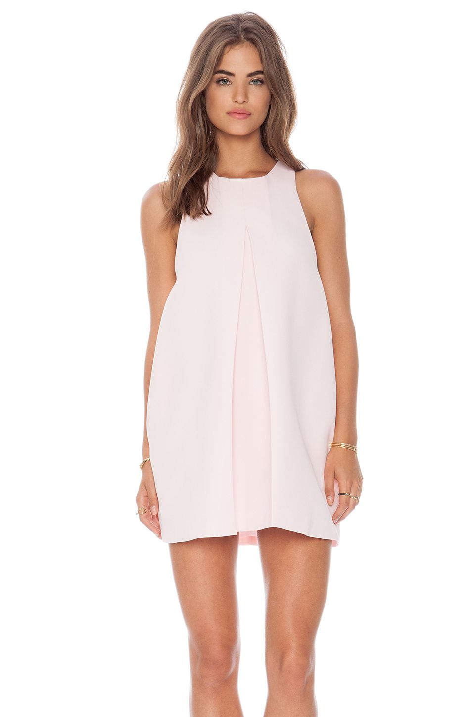 Cameo Atmosphere Dress in Soft Pink