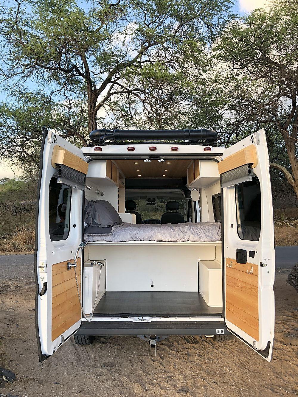 Van Life Aesthetic Van Life Budget Van Life Hacks Van Life Interior Van Life Vehicles In 2020 Dodge Camper Van Van Conversion Shower Dodge Ram Van