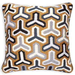 Jonathan Adler Malibu Needlepoint Throw Pillow Throw Pillows Jonathan Adler Pillows