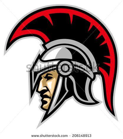 royalty free trojan warrior logo design google search graduation rh pinterest com trojan logos clip art trojan logistics inc