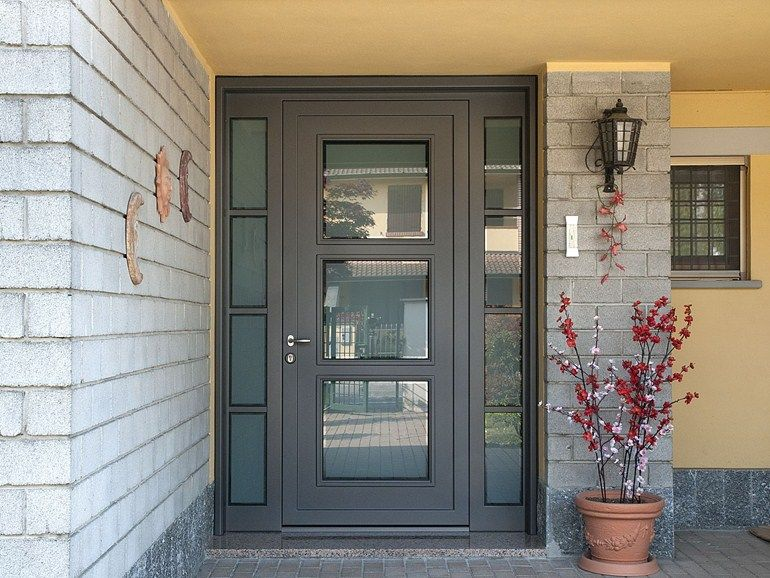 spesso CUSTOM SAFETY DOOR CUSTOM ENTRY DOOR | QUARTIERI LUIGI | Front  KV12