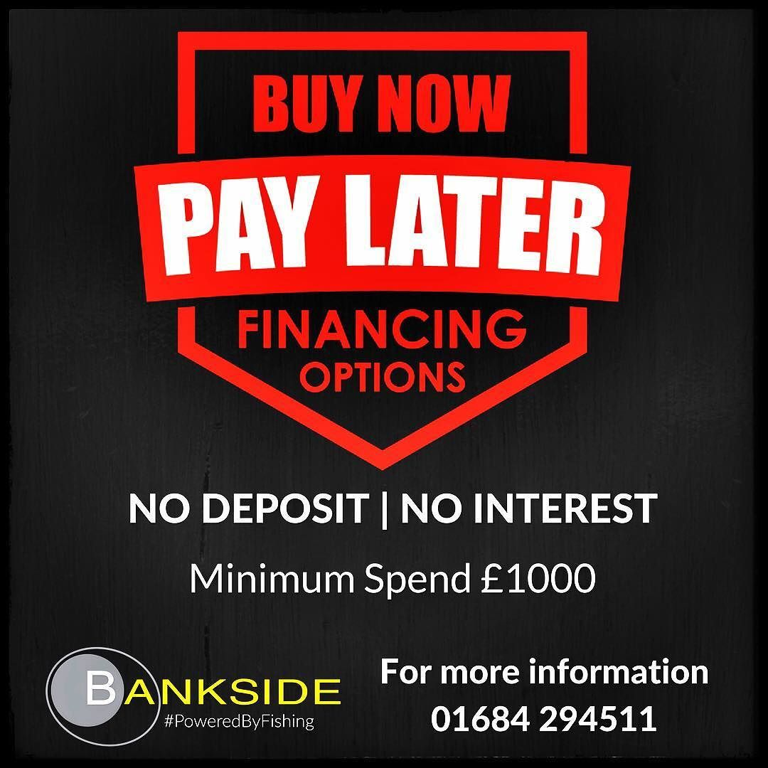 NEW FINANCE OPTION  We have a great new feature for those