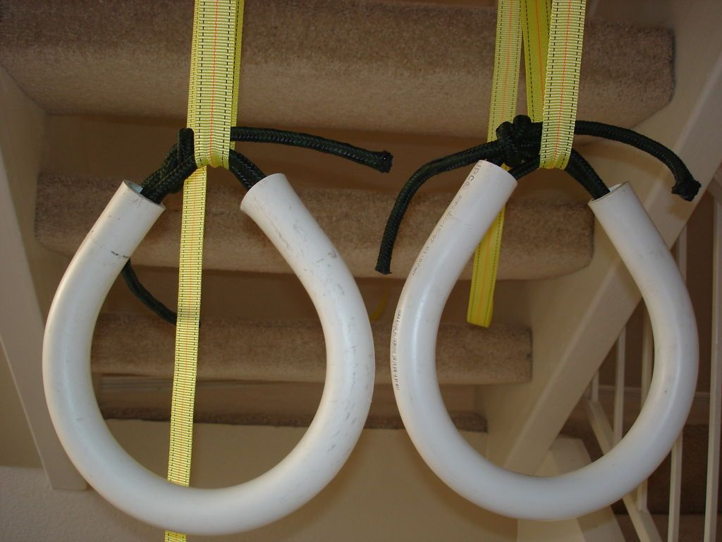 Make your own gymnastic rings