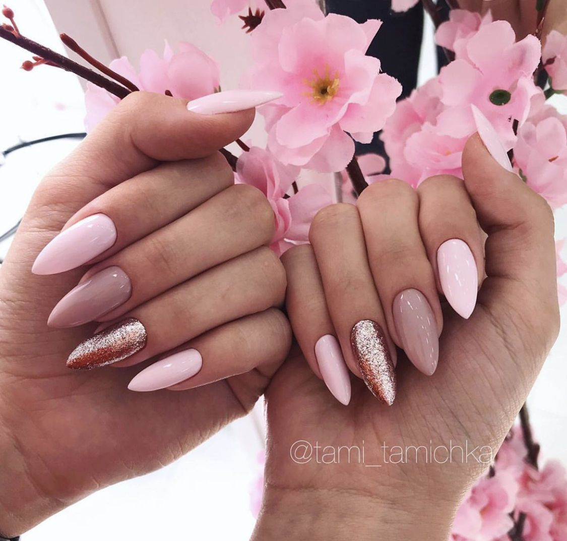 Pin By Pearl Cruviv On Nailed It In 2020 Vogue Nails Peach Nails Summer Acrylic Nails