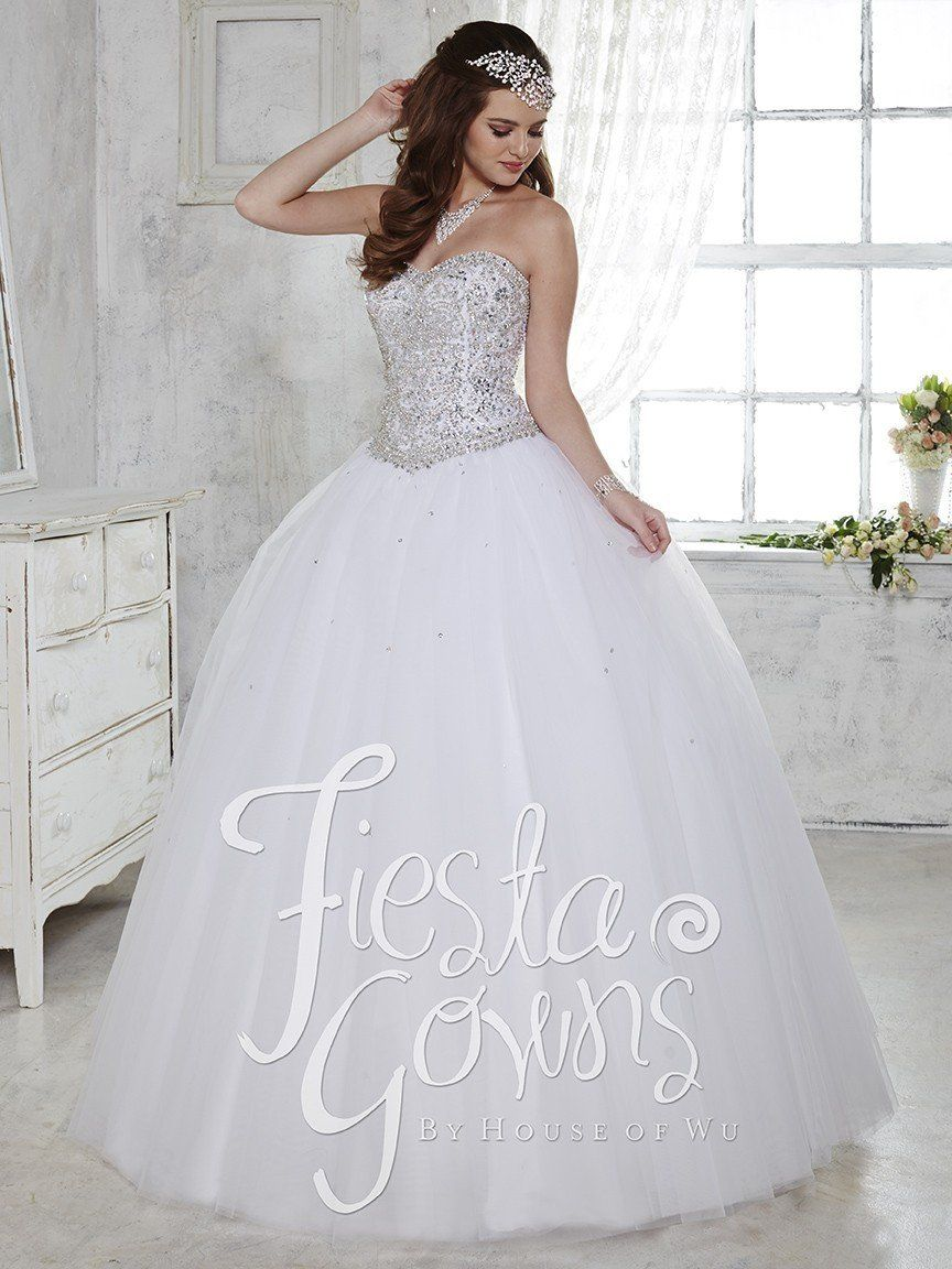 cbf80f2023d Fiesta Gowns 56276 by House of Wu - QuinceDresses.com.  fashion  style   outfit  fashionoftheday  clothes  womensstyle  womensfashion  fashionable