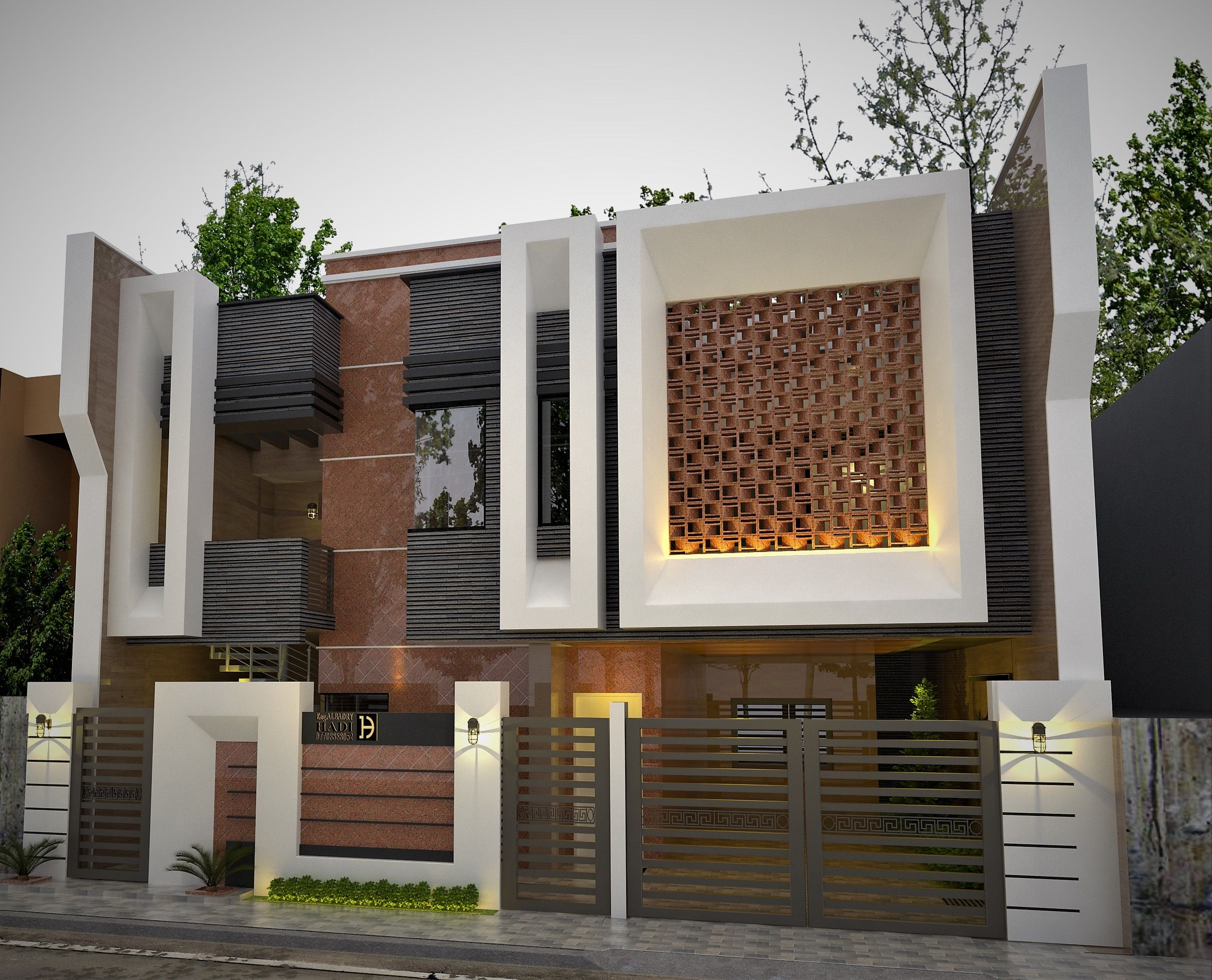 Modern villa design new home designs interior architecture arquitetura houses also pakistan for sale rawalpindi aaliya preetika ghulam in rh pinterest