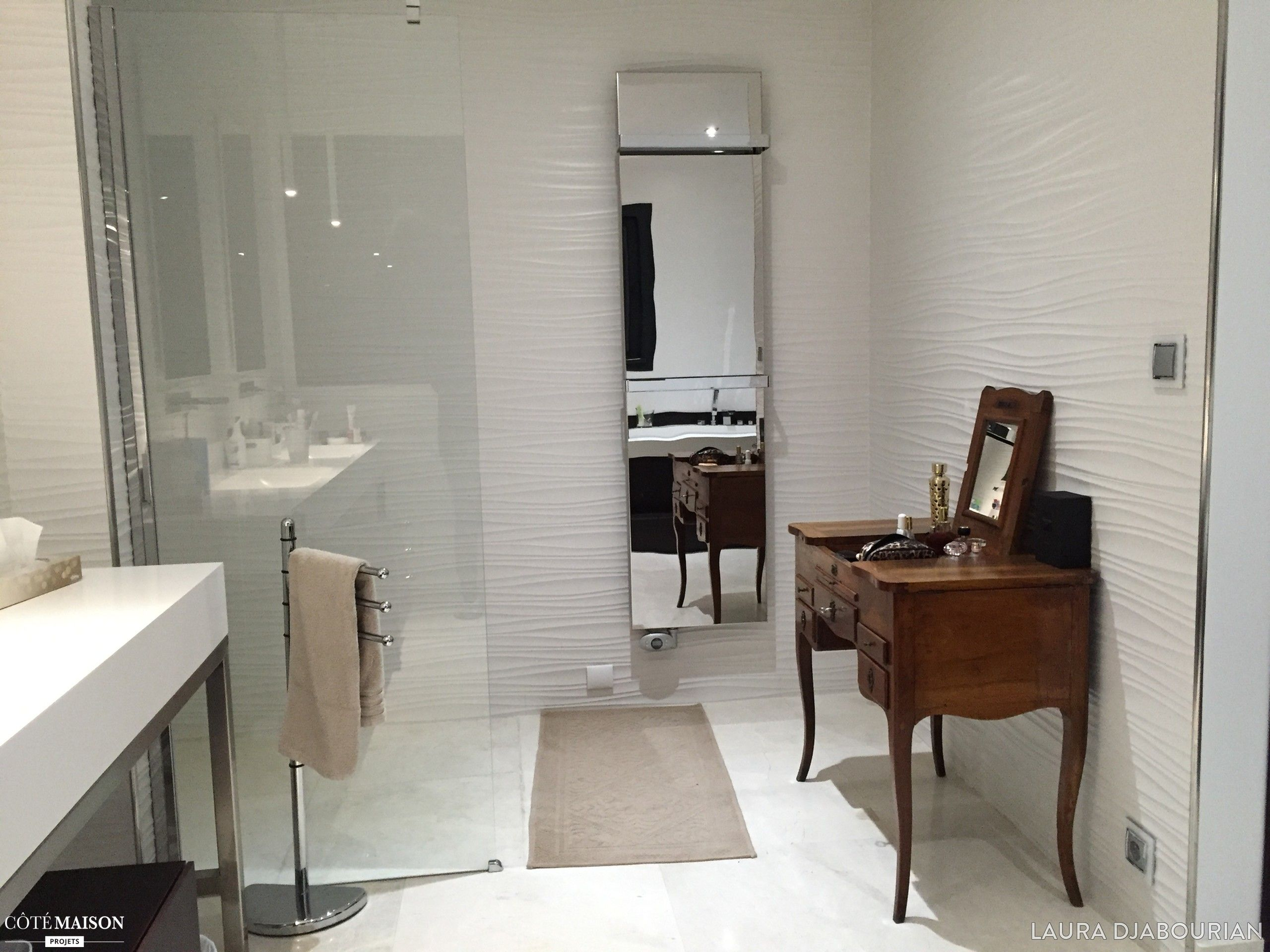 Agencement Dune Maison La Salle De Bain Parentale Laura - Cote maison salle de bain