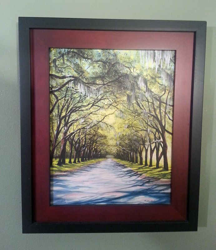 Oil Painting By Michele Snell Of Live Oak Trees In Savannah These Trees Were My Favorite Thing About Our Vacation There We Live Oak Trees Live Oak Oak Tree