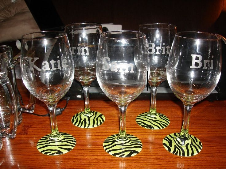 Top 10 Diy Decorations For Your Wine Glass Craft Pinterest Diy