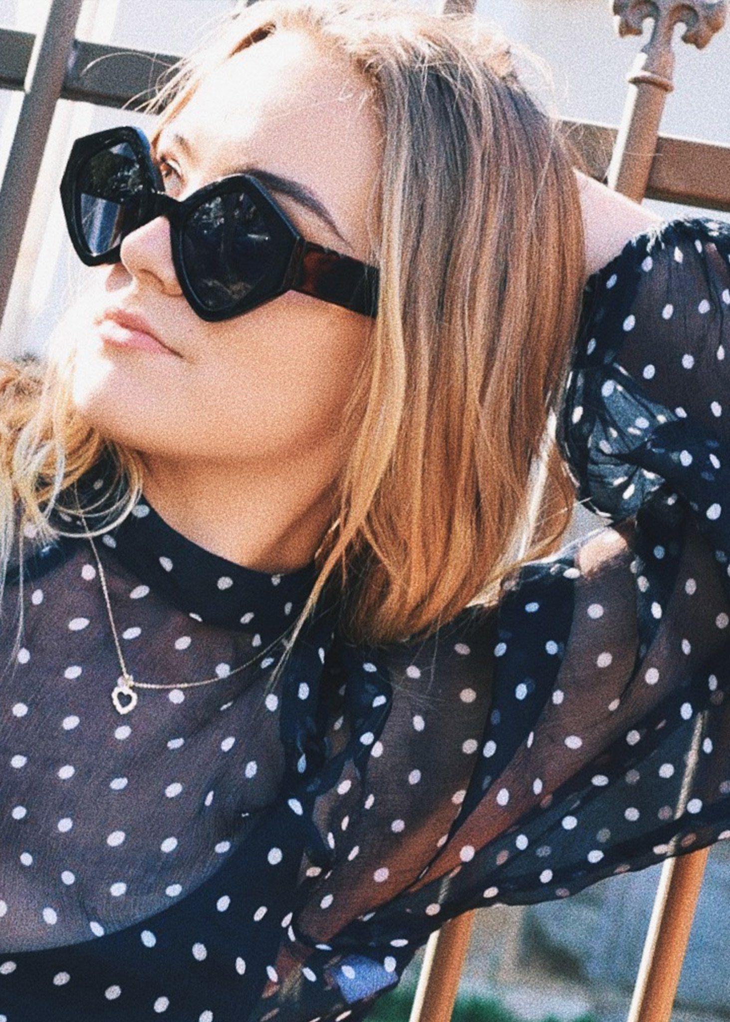 7e6e8b0cf7 Romeo   Juliet Sunglasses in Black by Pared Eyewear at Dead Pretty ...