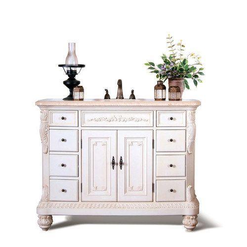 Legion Furniture 48'' Single Street Chest Bathroom Vanity Set