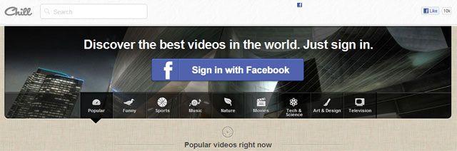 Chill : Un Pinterest pour la vidéo