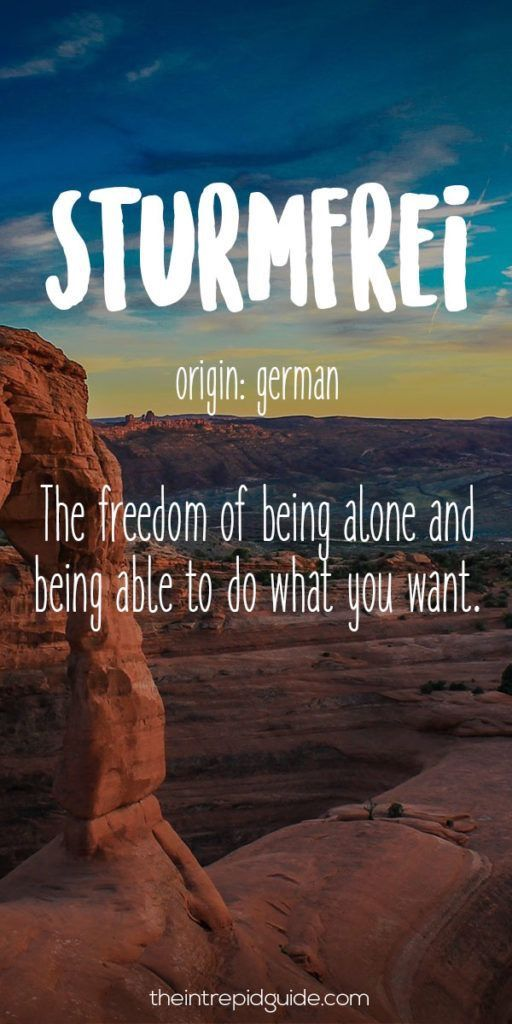 Sturmfrei Origin German The Freedom Of Being Alone And