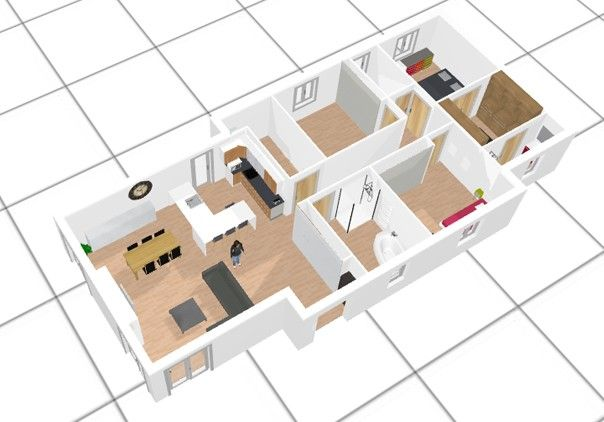 Logiciel plan 3D gratuit Déco maison Pinterest - Logiciel De Plan De Maison 3d Gratuit