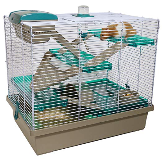 Amazon Com Pico Xl Translucent Teal Hamster Small Animal Home Cage Pet Supplies Cool Hamster Cages Small Pets Hamster House